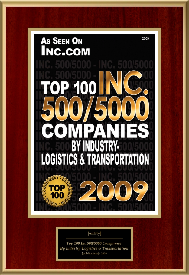 Top 100 Inc  500/5000 Companies By Industry--Logistics