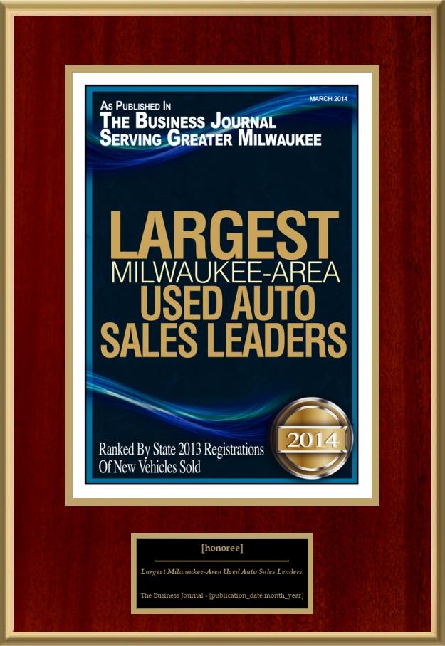 Ernie Von Schledorn >> Largest Milwaukee-Area Used Auto Sales Leaders | American ...