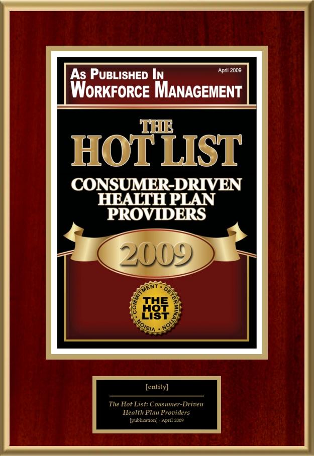 The Hot List: Consumer-Driven Health Plan Providers ...